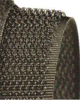 Hakenband 20 mm breit, zum Aufnähen, flammhemmend - hakenband